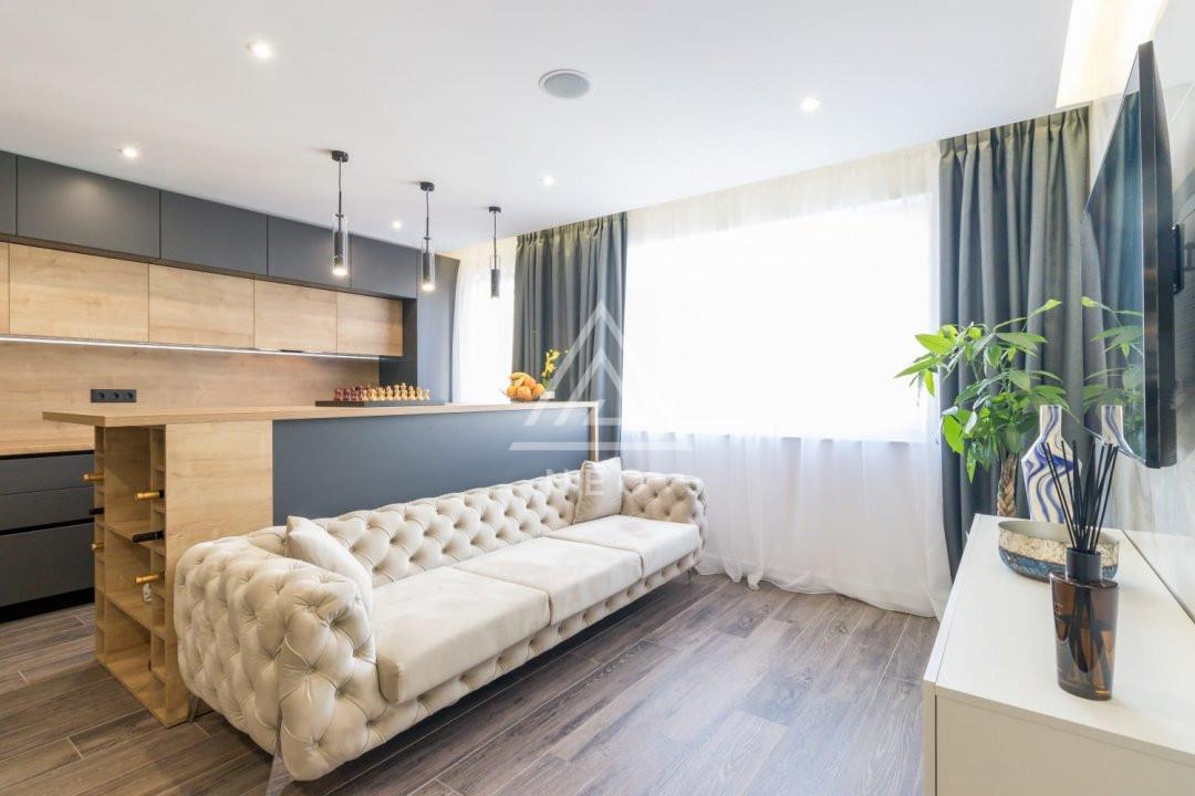 Apartament de 3 camere cu design rafinat si finisat de lux spre vanzare! 1