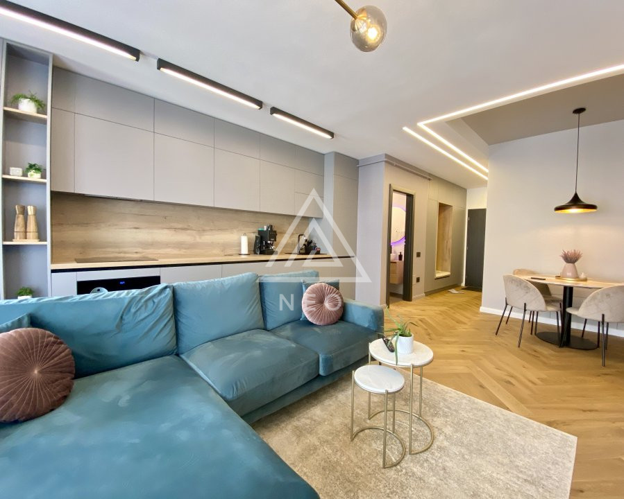 Apartament ultrafinisat cu 3 camere la Cheie 🔑, parcare si boxa incluse !  1
