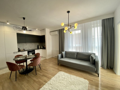 Apartament cu 2 camere de inchiriat in Borhanci cu priveliste incantatoare!