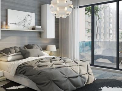 Apartament cu 4 camere semidecomandat in bloc nou cu CF !
