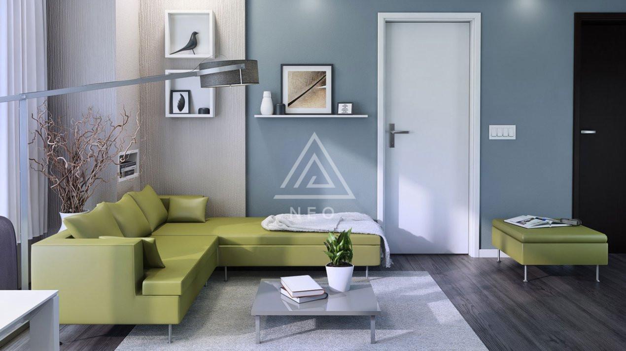Apartament cu 4 camere semidecomandat in bloc nou cu CF ! 2