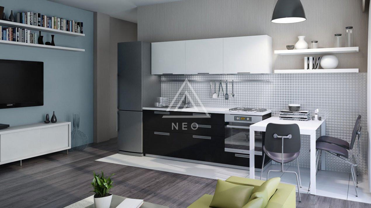 Apartament cu 4 camere semidecomandat in bloc nou cu CF ! 3