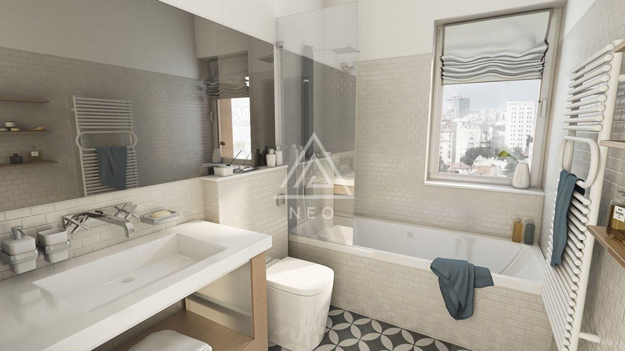 Apartament cu 4 camere semidecomandat in bloc nou cu CF ! 5