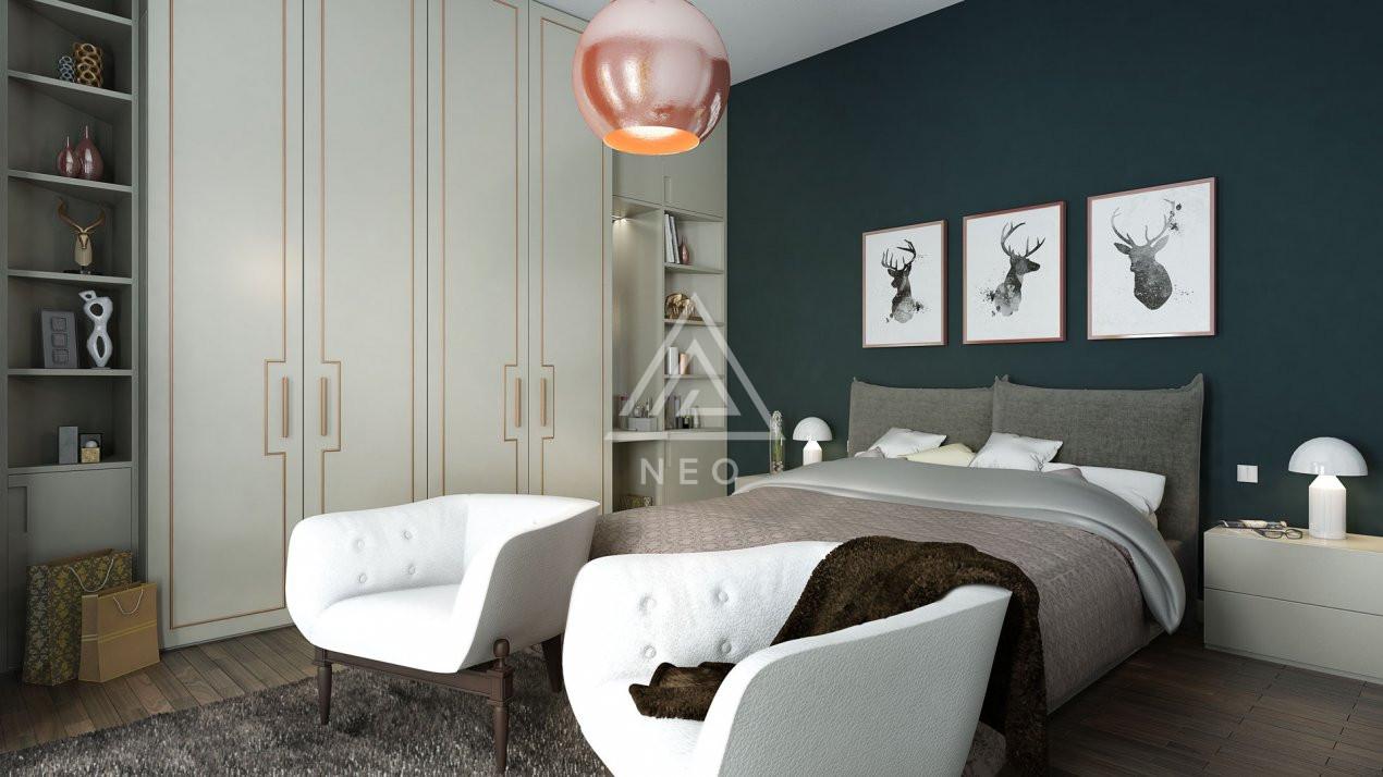 Apartament cu 4 camere semidecomandat in bloc nou cu CF ! 6