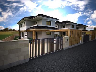 Casa la stadiul de proiect de vanzare in Luna de Sus!