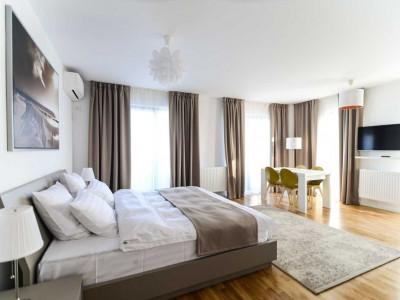 Apartament de lux cu terasa generoasa de 20 mp si priveliste in PARK LAKE!