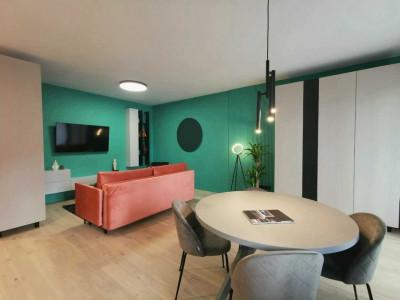 Apartament cu 2 camere si gradina privata de inchiriat in zona Semicentrala!