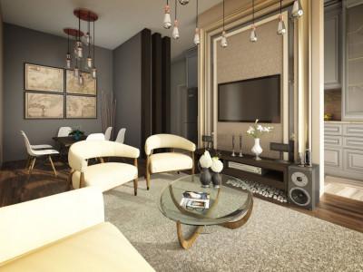 Apartamente cu 3 camere intr-un ansamblu premium din zona The Office!